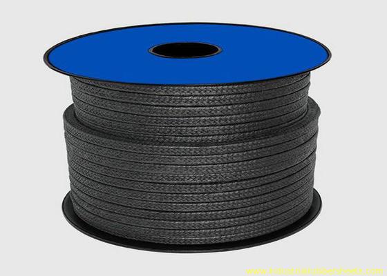 চীন কালো Teflon PTFE Sealing উপাদান জন্য প্যাকিং / গ্রাফাইট গ্ল্যান্ড প্যাকিং দড়ি পরিবেশক